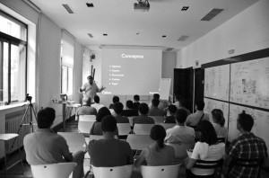 Una foto del curso